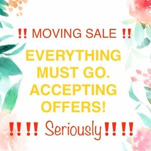 ⚠️ MOVING SALE ⚠️ EVERYTHING MUST GO⚠️